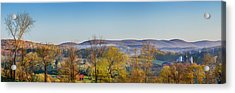 Rolling Hills Acrylic Print by Bill Wakeley