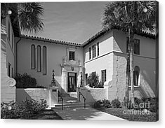 Rollins College Warren Administration Building Acrylic Print by University Icons