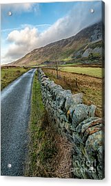 Roman Road Acrylic Print by Adrian Evans