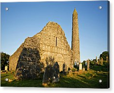 Romanesque Arcading, Gable End Acrylic Print by Panoramic Images