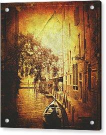 Romantic Ride  Acrylic Print by Steven  Taylor