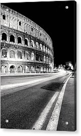 Rome Colloseo Acrylic Print by Nina Papiorek