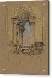 Rome Vatican, C1909 Acrylic Print by Granger