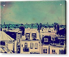Roofs Acrylic Print by Giuseppe Cristiano