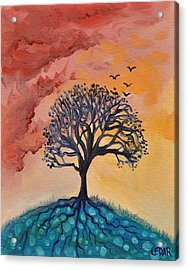 Roots And Wings Acrylic Print by Cedar Lee