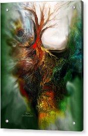 Roots Acrylic Print by Carol Cavalaris