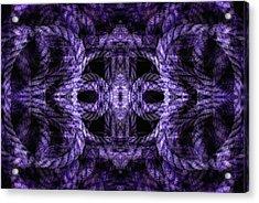 Rope Mantra 8 Acrylic Print by Lynda Lehmann
