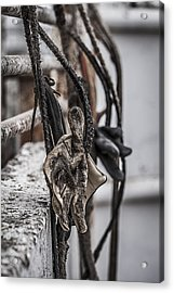 Ropes And Gloves Acrylic Print by Amber Kresge