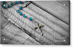 Rosary Acrylic Print by Aged Pixel