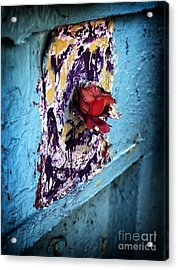 Rose For The Dead Acrylic Print by John Rizzuto