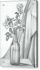 Roses Acrylic Print by Gayatri Ketharaman