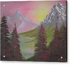 Rosie Pine Acrylic Print by Caleb Mitchell