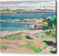 Ross Of Mull From Traigh Mhor Acrylic Print by Francis Campbell Boileau Cadell