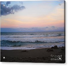 Ross Witham Beach No2 Acrylic Print by Megan Dirsa-DuBois