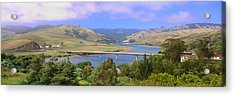 Route 1, Bridge Over Russian River Acrylic Print by Panoramic Images