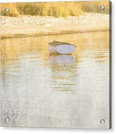 Rowboat In The Summer Sun Acrylic Print by Carol Leigh