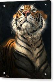 Royalty Acrylic Print by Aaron Blaise