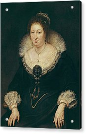 Rubens, Peter Paul 1577-1640. Lady Acrylic Print by Everett