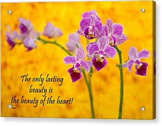 Rumi Quote-1 Acrylic Print by Rudy Umans
