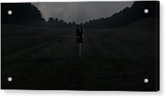 Run Acrylic Print by Chase Poore