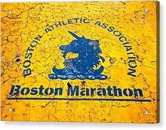 Runners Acrylic Print by Charlie Brock