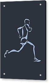 Running Runner12 Acrylic Print by Joe Hamilton