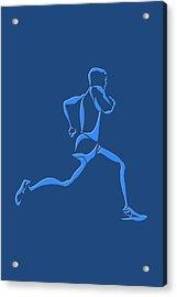 Running Runner15 Acrylic Print by Joe Hamilton