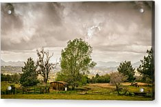 Rural East County Acrylic Print by Joseph Smith