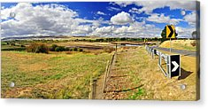 Rural Tasmania #2 Acrylic Print by Terry Everson