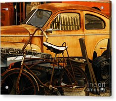 Rust Race Acrylic Print by Joe Jake Pratt