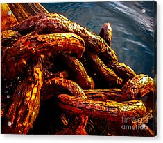 Rust Acrylic Print by Robert Bales