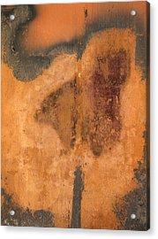 Rusted Metal Abstract Acrylic Print by Ben Kotyuk