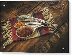 Rustic Spices Acrylic Print by Scott Norris