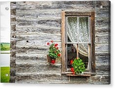 Rustic Window Acrylic Print by Paul Freidlund