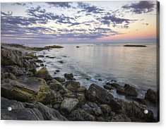 Rye Cliffs Acrylic Print by Eric Gendron