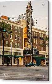 Saenger Theatre New Orleans Acrylic Print by Steve Harrington