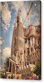 Sagrada Familia Acrylic Print by Erik Brede