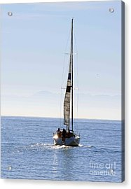 Sail Into The Future Acrylic Print by Artist and Photographer Laura Wrede
