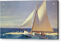 Sailing Boat Acrylic Print by Edward Hopper