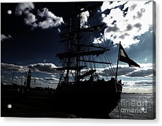 Sailing By Night Acrylic Print by Four Hands Art