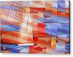 Sailing Stripes Acrylic Print by Lutz Baar