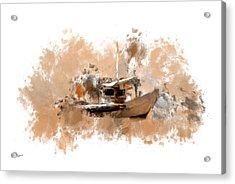 Sailing Time Acrylic Print by Lourry Legarde