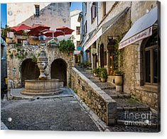 Saint Paul Square Acrylic Print by Inge Johnsson