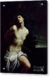 Saint Sebastian Acrylic Print by Guido Reni
