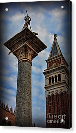 Saint Theodore Standing Guard II Acrylic Print by Lee Dos Santos