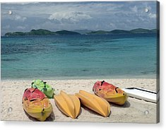 Saint Thomas Beaches Acrylic Print by Willie Harper