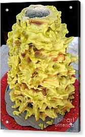 Sakotis. Lithuanian Tree Cake. Acrylic Print by Ausra Huntington nee Paulauskaite