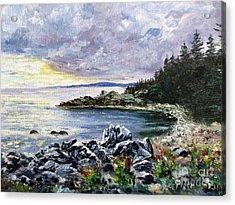 Salisbury Cove Acrylic Print by Lee Piper
