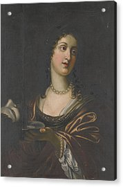 Salome With The Head Of St John The Baptist Acrylic Print by Celestial Images