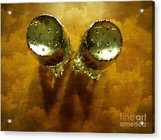 Salt And Pepper Acrylic Print by Mary Machare